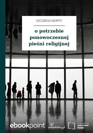 Okładka książki/ebooka o potrzebie ponowoczesnej pieśni religijnej