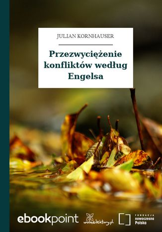 Okładka książki Przezwyciężenie konfliktów według Engelsa