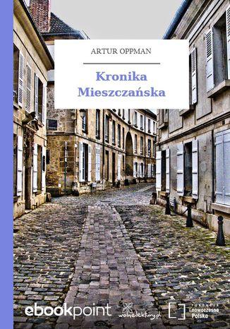 Okładka książki Kronika Mieszczańska