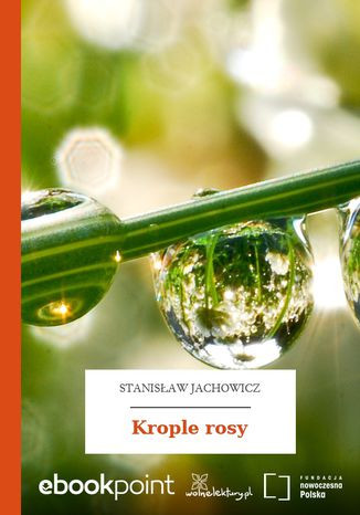 Okładka książki/ebooka Krople rosy