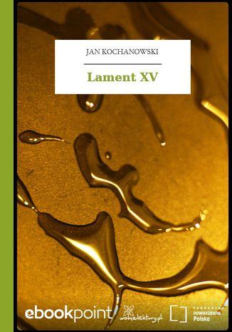 Okładka książki Lament XV