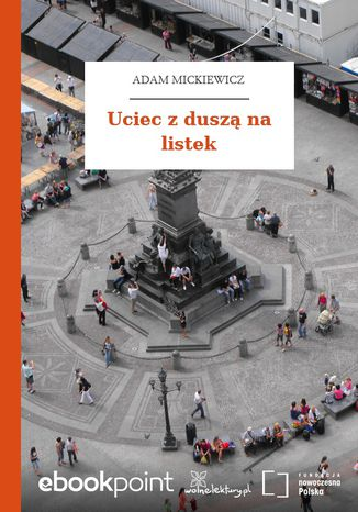 Okładka książki/ebooka Uciec z duszą na listek