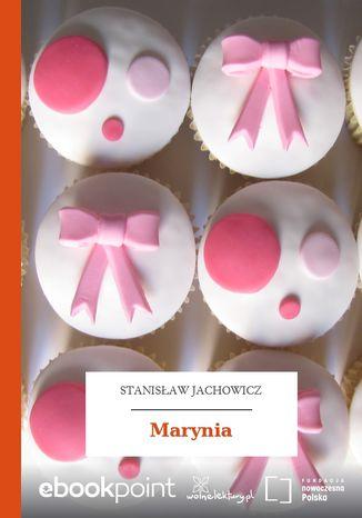Okładka książki Marynia