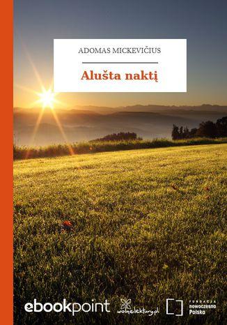 Okładka książki Alušta nakt
