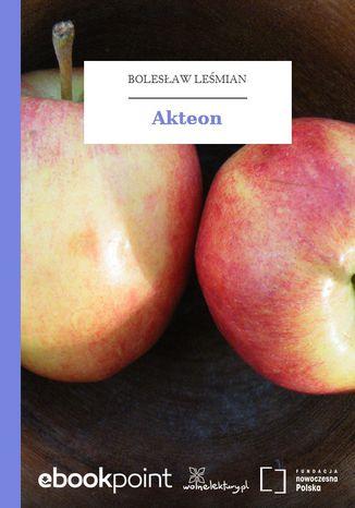 Okładka książki Akteon