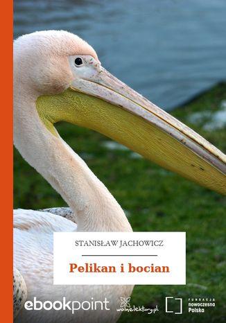 Okładka książki Pelikan i bocian