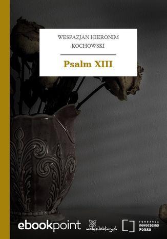 Okładka książki Psalm XIII