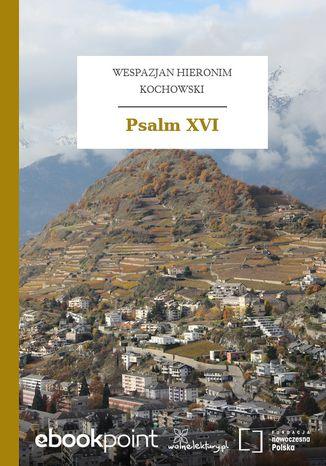 Okładka książki Psalm XVI