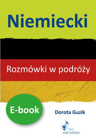 Okładka książki/ebooka Niemiecki Rozmówki w podróży