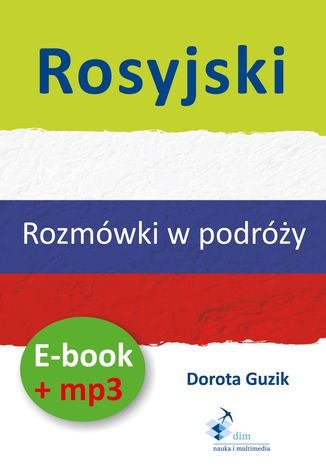 Okładka książki/ebooka Rosyjski Rozmówki w podróży (PDF + mp3)