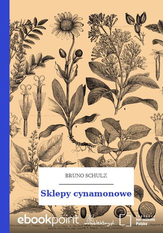 Okładka książki/ebooka Sklepy cynamonowe
