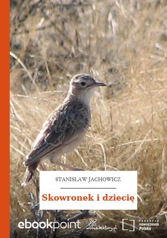 Okładka książki/ebooka Skowronek i dziecię