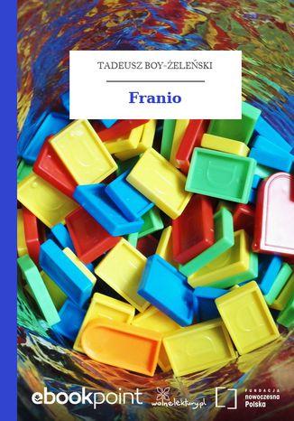Okładka książki Franio
