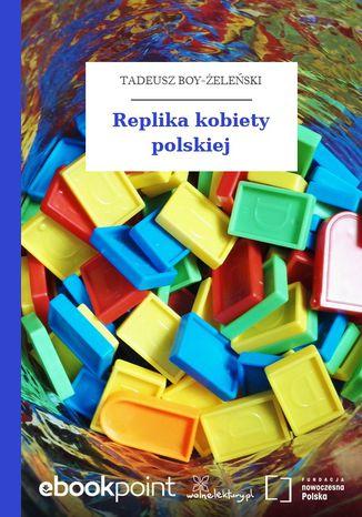 Okładka książki/ebooka Replika kobiety polskiej