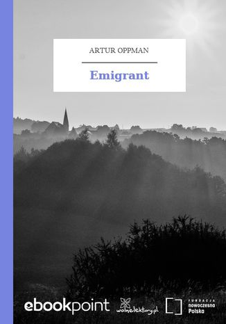 Okładka książki Emigrant