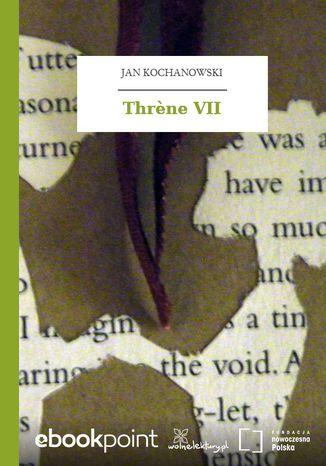 Okładka książki/ebooka Thrne VII