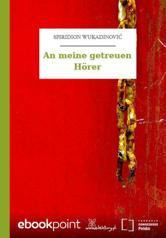 Okładka książki An meine getreuen Hörer