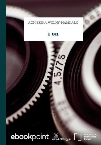 Okładka książki/ebooka i on