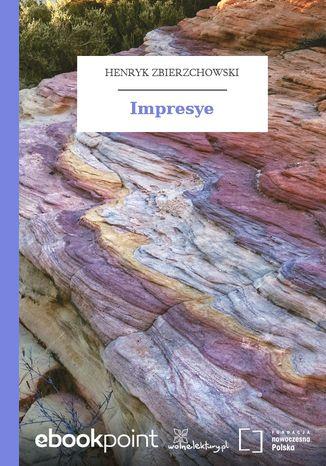 Okładka książki Impresye