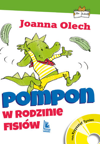 Okładka książki Pompon w rodzinie Fisiów
