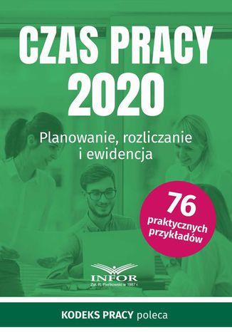 Okładka książki Czas Pracy 2020