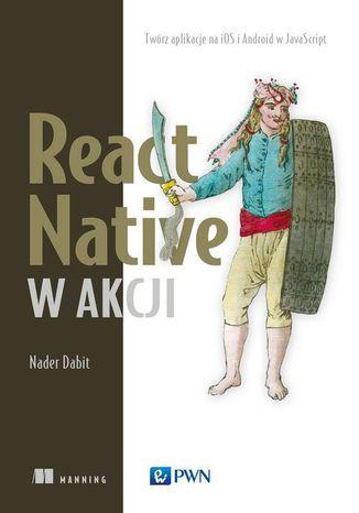 Okładka książki/ebooka React Native w akcji