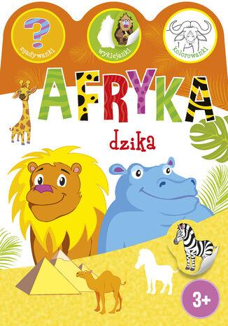 Okładka książki Afryka dzika