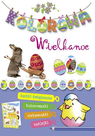 Okładka książki Kolorowa Wielkanoc