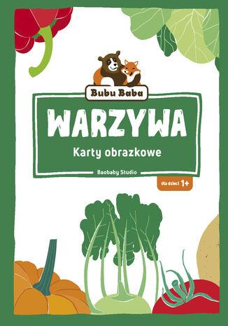 Okładka książki Karty obrazkowe. Warzywa