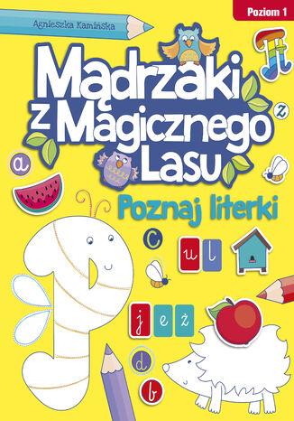 Okładka książki/ebooka Poznaj literki. Poziom 1