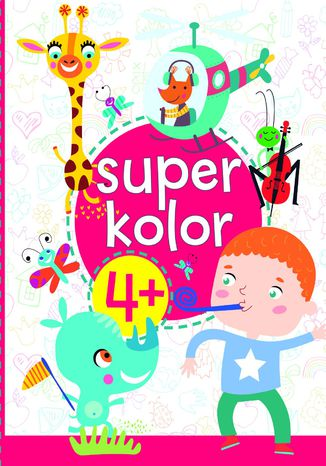 Okładka książki Superkolor 4+