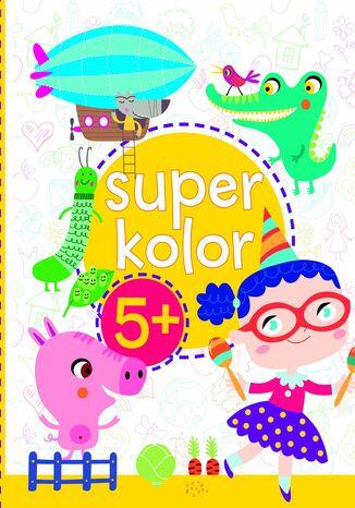 Okładka książki Superkolor 5+