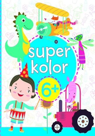 Okładka książki Superkolor 6+