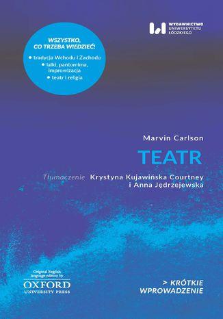 Okładka książki Teatr. Krótkie Wprowadzenie 20