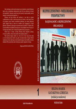 Okładka książki Racjonalność a bezpieczeństwo organizacji