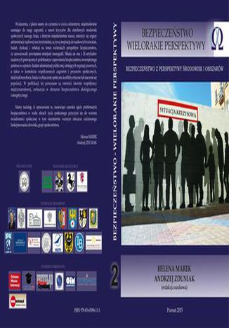 Okładka książki Bezpieczeństwo z perspektywy środowisk i obszarów t.2