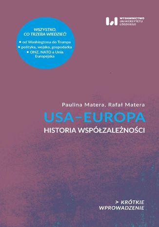 Okładka książki USA-Europa. Historia współzależności. Krótkie Wprowadzenie 23