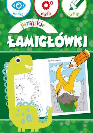 Okładka książki Jurajskie łamigłówki