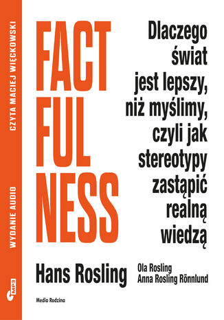Okładka książki Factfulness