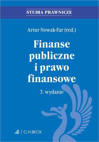 Okładka książki Finanse publiczne i prawo finansowe. Wydanie 3