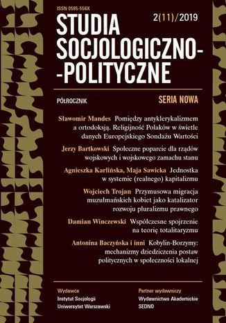 Okładka książki Studia Socjologiczno-Polityczne 2(11) 2019