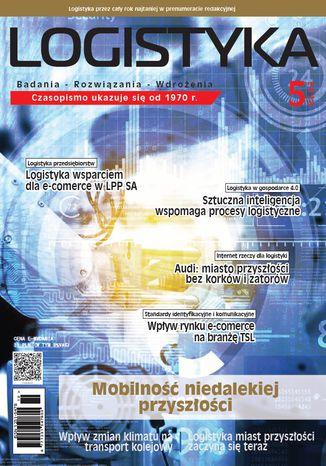 Okładka książki Czasopismo Logistyka 5/2018