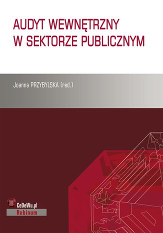 Okładka książki/ebooka Audyt wewnętrzny w sektorze publicznym