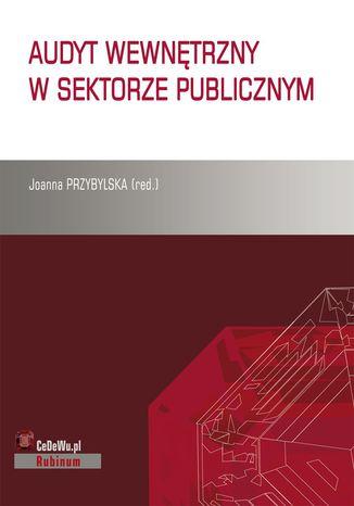 Okładka książki Audyt wewnętrzny w sektorze publicznym