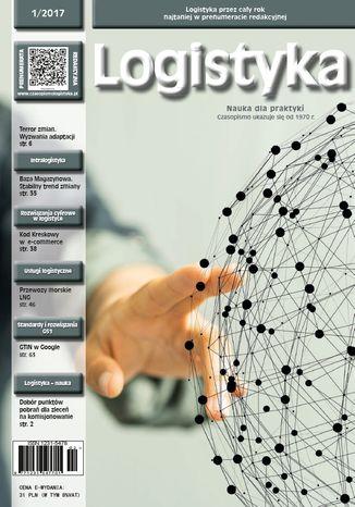 Okładka książki Czasopismo Logistyka 1/2017
