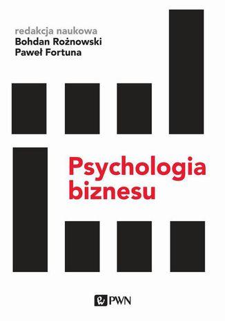 Okładka książki/ebooka Psychologia biznesu