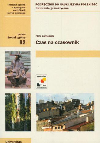 Okładka książki/ebooka Czas na czasownik (B2)