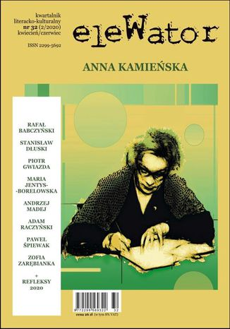 Okładka książki/ebooka eleWator 32 (2/2020)  Anna Kamieńska