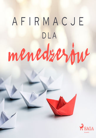 Okładka książki Afirmacje dla menedżerów