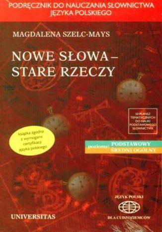 Okładka książki/ebooka Nowe słowa, stare rzeczy